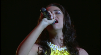 Durante la Gala del V Concurso Chepín in Memoriam